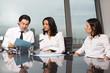 Businessteam beim Meeting