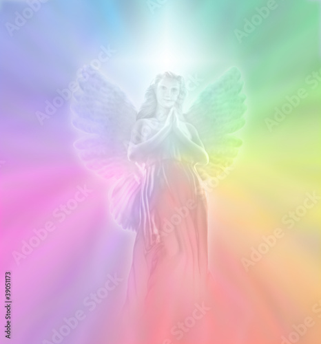 Angel of Divine Light, soft blur