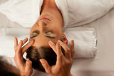 Cosmetic treatment massage in Spa