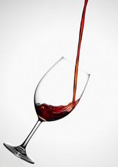 Rotweinglas Weinglas