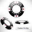 Casino 3d chip