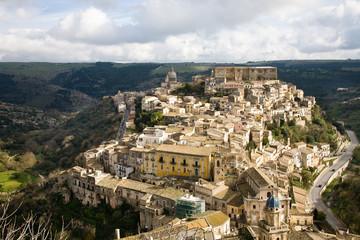 Cityscape Ragusa Ibla, Sicily