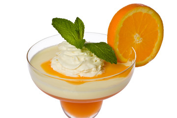 Apricot and Lemon Parfait