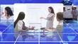 Business videos spinning round