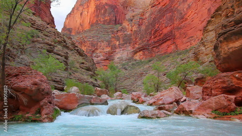Desert River in Grand Canyon National Park