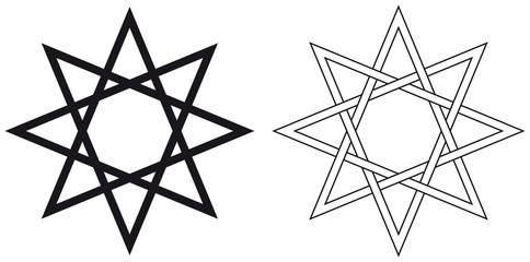 Oktogramm Achterstern
