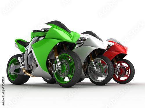 Poster Motorfiets Moto italia