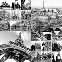 Collage Paris