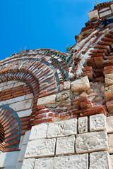 Фрагмент колонны старинной церкви