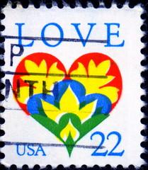 Love. US postage.