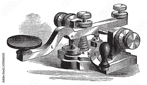 Fig. 8. Morse manipulator, vintage engraving.