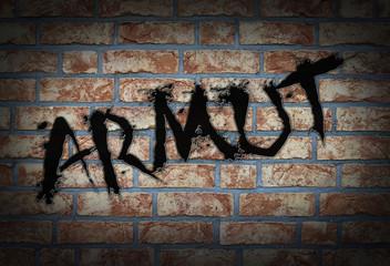 Graffiti -Armut