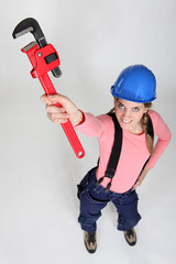 Women with high-wrench