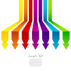 7 Arrows Rainbow