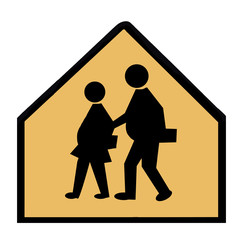 Overweight Children Crossing