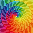 colorful abstract swirly background