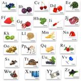 Fototapety alfabeto spagnolo