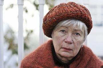 Depressed Senior Woman 12