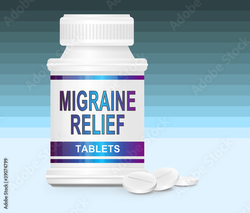 Migraine medication.