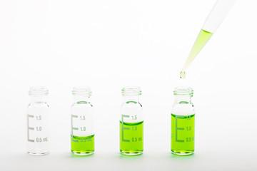 Chemical research - sample preparation