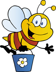 Bee Flying Bucket