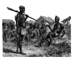 Trad. African Scene