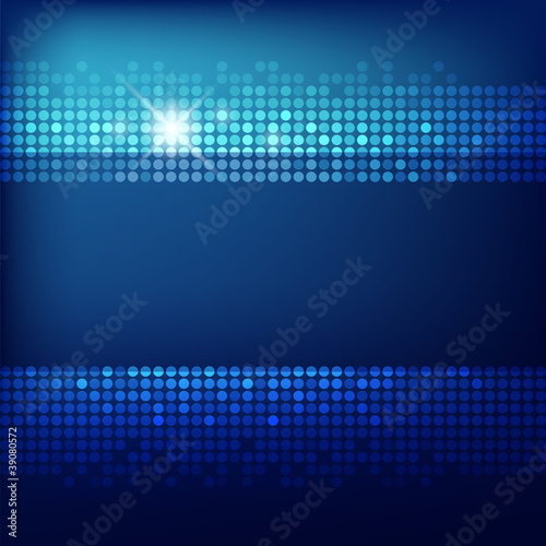 Abstract Technology blue background, vector illustration