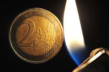 Euro in Gefahr