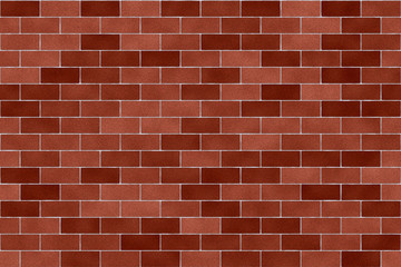 Red Brickwall Background