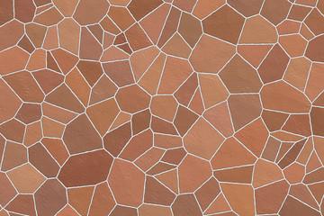 Natursteinhintergrund, Terracotta