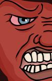 Enraged Face poster