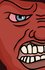 Enraged Face
