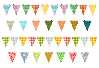 party pennant bunting