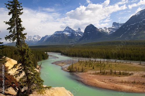 the mighty Canadian Rockies