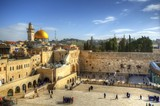 Old City Of Jerusalem at the Wailing Wall and Dome of the Rock - 39088759
