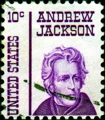 Andrew Jackson. 1767 - 1845. US postage.