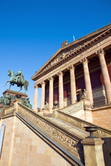 Berlin landmark Old National Gallery