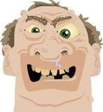Angry Hank poster