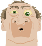 Shocked Hank poster