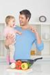 mit papa kochen