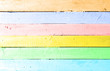 Color wooden plank
