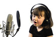 Little Girl Recording
