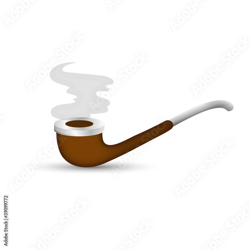 Smoking Pipe Illustration