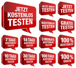 Sprechblasen testen