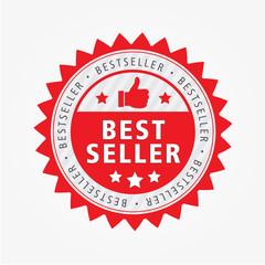 best seller aufkleber