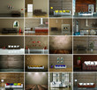 Bildersammlung - 20 Innendesign Bilder braun