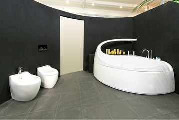 Oval bathroom