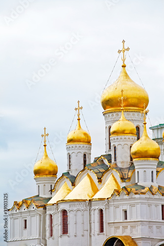 Cathedral of the Annunciation in Kremlin, Moscow, Russia