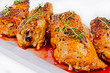 grilled chicken legs with thyme