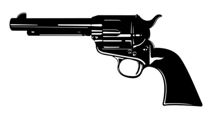 Black and White Revolver II